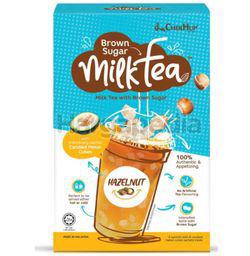 Chek Hup Brown Sugar Milk Tea Hazelnut 6x35gm
