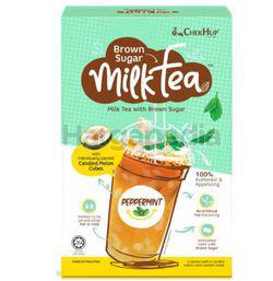 Chek Hup Brown Sugar Milk Tea Peppermint 6x35gm