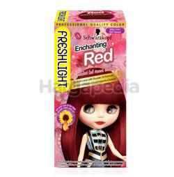 Schwarzkopf Freshlight Hair Colour Milky Cream Enchanting Red 1set