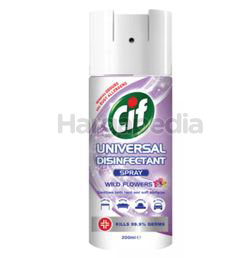 Cif Universal Disinfectant Spray Wild Flower 200ml