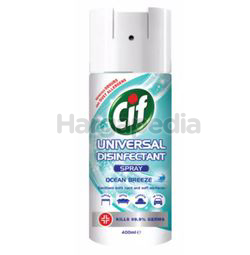 Cif Universal Disinfectant Spray Ocean Breeze 400ml