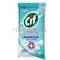 CIF Power Shine Multi Purpose Wipes 90s