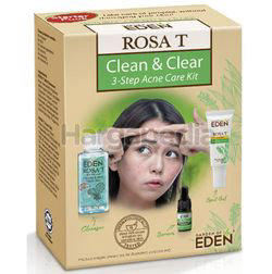 Garden of Eden Rosa T Clean & Clear 3-Step Acne Care 1set
