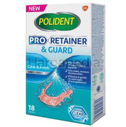Polident Pro Retainer & Guard Daily Cleanser 18s