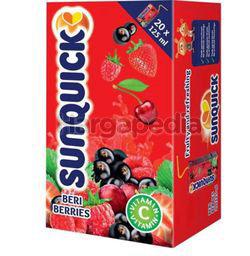Sunquick Juice Mixed Berries 20x125ml