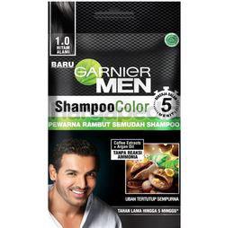 Garnier Men Shampoo Colour 1.0 Black 20ml 1s