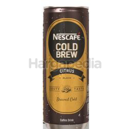 Nescafe Can Cold Brew Citrus 240ml