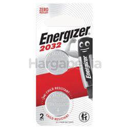 Energizer 3V Lithium Battery 2032 2s