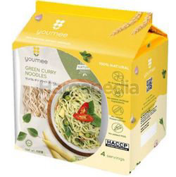 Youmee Green Curry Noodles 4x100gm