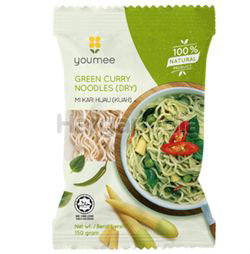 Youmee Green Curry Noodles 150gm