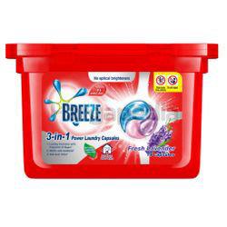 Breeze 3in1 Capsule Detergent Fresh Lavender 18s