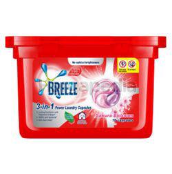 Breeze 3in1 Capsule Detergent Sakura Blossom 18s