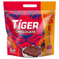 Tiger Biscuit Chocolate (6+1)x58.8gm 411.6gm