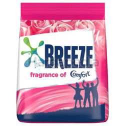 Breeze Detergent Powder Fragrance of Comfort 750gm