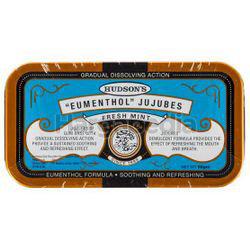 Hudson's Eumenthol Jujubes Fresh Mint 50gm