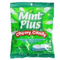 Fruit Plus Chewing Candy Mint 150gm