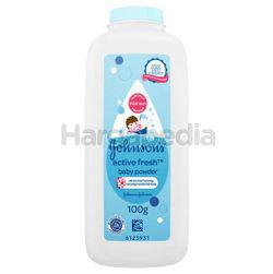 Johnson's Baby Active Fresh Powder 100gm