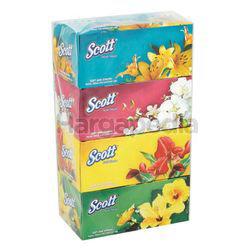 Scott Facial Tissue Festive 4x80s