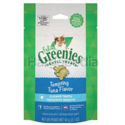 Greenies Feline Dental Treats Tuna Flavor 60gm