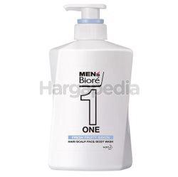 Biore Men One Fresh Fruity Hair/ Scalp/ Face/ Body Wash 480ml