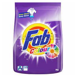 Fab Detergent Powder Colour 2kg