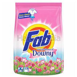Fab Detergent Powder Freshness of Downy 2kg