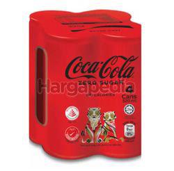 Coca-Cola Zero Sugar 4x320ml