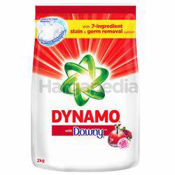 Dynamo Powder Detergent with Downy 2kg