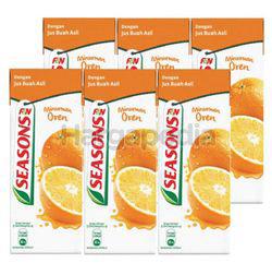 Season Orange Juice 6x250ml