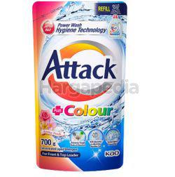 Attack Liquid Detergent Refill Colour 700gm