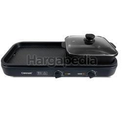 Cornell CCG-EL98DT Table Top Grill With Hot Pot 1s