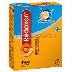 Redoxon Triple Action Vitamin C,D & Zinc Effervescent Orange 45s