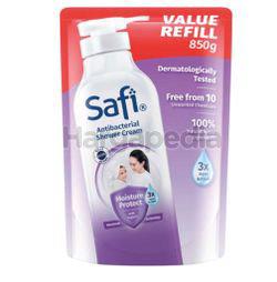 Safi Anti-Bacterial Shower Cream Moisture Protect Refill 850ml