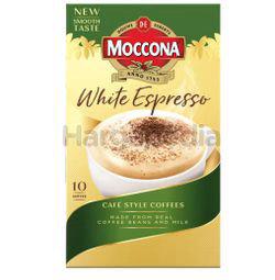 Moccona 3 In 1 White Espresso 10x15gm