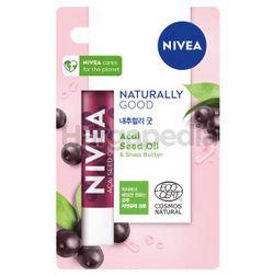 Nivea Acai Seed Oil Caring Lip Balm 4.8gm