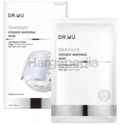 Dr.Wu Glutalight Intensive Whitening Mask 3s