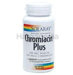 Solaray Chromiacin Plus 100s