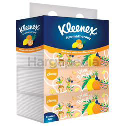 Kleenex 3ply Facial Tissue Soft Pack Scented Brazilian Citrus 4x90s