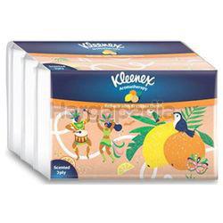 Kleenex 3ply Soft Pack Tissues Scented Brazilian Citrus 4x44s