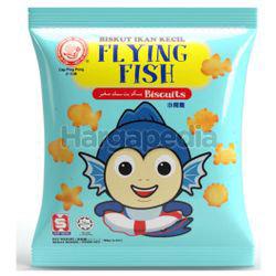 Hup Seng Ping Pong Flying Fish Biscuits 90gm