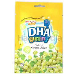 Lot 100 DHA gummy White Grape Juice 40gm