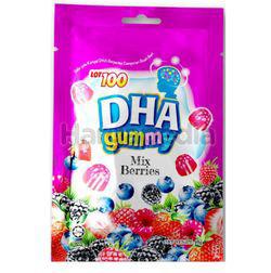 Lot 100 DHA gummy Mixed Berries 40gm