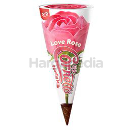 Wall's Cornetto Love Rose Peachy Milk Ice Cream 1s