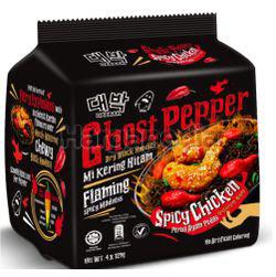 Mamee Daebak Ghost Pepper Spicy Chicken 4x129gm