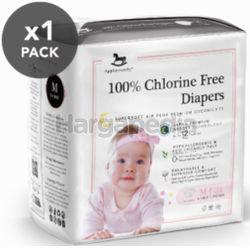 Applecrumby Chlorine Free Premium Overnight Tape Diapers M21