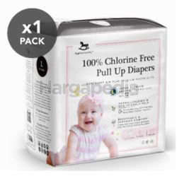 Applecrumby Chlorine Free Premium Overnight Pull Up Diapers L19