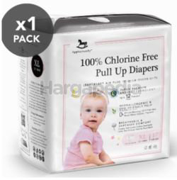 Applecrumby Chlorine Free Premium Overnight Pull Up Diapers XL17