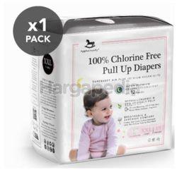 Applecrumby Chlorine Free Premium Overnight Pull Up Diapers XXL15