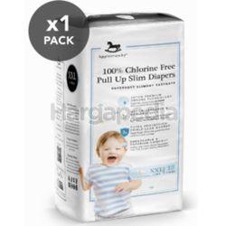 Applecrumby Chlorine Free Slim Dry EasyDay Pull Up Slim Diapers XXL12