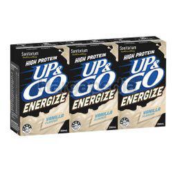 Sanitarium UP&GO Protein Energize Vanilla Flavor 3x250ml